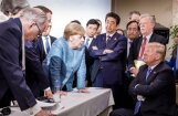 G7 samits: plaisa starp ASV un tās sabiedrotajām turpina pieaugt