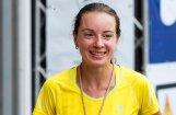 Olimpiete Marhele uzvar taku skrējiena 'Stirnu buks' Talsu pauguraines posmā