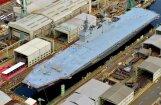 Japānā ūdenī ielaists viens no lielākajiem karakuģiem kopš Otrā pasaules kara