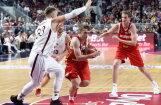 ФОТО, ВИДЕО: Сборная Латвии по баскетболу проиграла России в Arēna Rīga