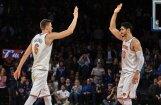 Video: Porziņģis ar 'dankiem' un bloku iekļūst NBA skaistāko momentu izlasē