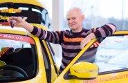 'Mego' un 'Vesko' veikalu tīkla galvenā loterijas balva 'Nissan Juke' aizrūcina uz Alūksni