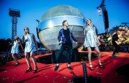 Liepājā fanu tūkstošus sajūsmina 'Prāta vētras' grandiozais šovs