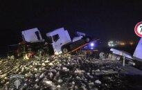 Negadījuma vietā uz Liepājas šosejas satiksme pilnībā atjaunota