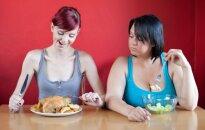 Par maz ēdiena, lai notievētu. Kas liecina, ka diēta neļauj zaudēt svaru
