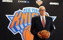 Pēc mēģinājumiem aizmainīt Porziņģi 'Knicks' no prezidenta amata oficiāli atlaiž Džeksonu