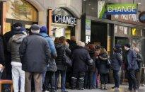 'Šveices šoks': eiro kritums, bankroti un zaudējumi visā pasaulē