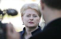Soctīklotāji 'aizsvilstas' par Lietuvas prezidentes rīcību intervijas laikā