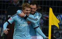 Rudņeva skaisti gūtie vārti atnes vēl vienu uzvaru 'Hamburger SV' komandai