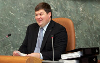 Saeima izsaka uzticību Aigara Kalvīša valdībai