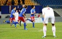 Latvijas futbolistiem apkaunojošs neizšķirts Lihtenšteinā (+FOTO)