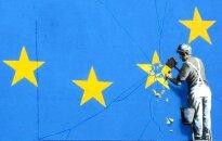 Benksijs no ES karoga 'izkaļ' vienu zvaigzni