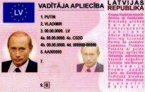 В Германии у мужчины нашли латвийские права на имя Путина