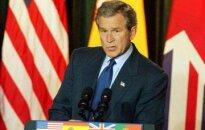 Bušs: Lai novērstu karu, Sadamam jādodas trimdā