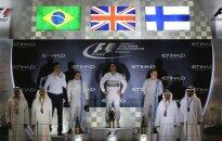 Hamiltons otro reizi karjerā kļūst par F-1 pasaules čempionu