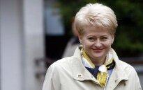 Lietuvas prezidenta amatā stājas Daļa Grībauskaite