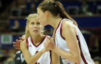 Babkina un Tamane labo Latvijas izlases rekordus