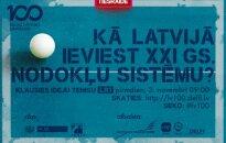 Raidījums: Ideju teniss. Kā Latvijā ieviest 21. gadsimta nodokļu sistēmu?