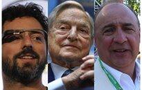 Amerikāņu sapņa veiksminieki – septiņi bagātākie imigranti, kas turību guvuši ASV