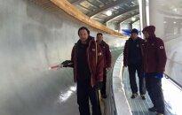 FIL prezidents pauž bažas par Phjončhanas bobsleja un kamaniņu trases nākotni