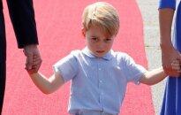 ФОТО, ВИДЕО: Принц Джордж снова показал свой характер