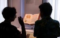 Gaismas pilī atklāta jaunā pastāvīgā ekspozīcija 'Grāmata Latvijā'