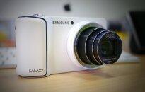 Apskats: 'Samsung Galaxy Camera' - viedtālrunis fotokameras ādā