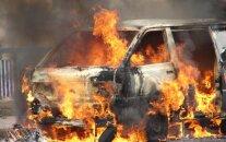 Машина съехала в кювет и загорелась: пострадала 32-летняя женщина