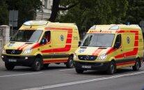 В центре Риги сбит пешеход: водитель скрылся