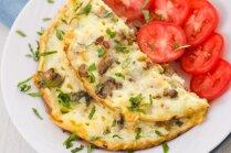 Omlete ar sēnēm