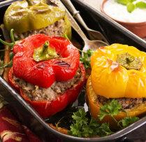 Pildītas paprikas recepte