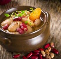 Pupiņu - gaļas zupa