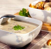 Вкусно и питательно: сырный суп с грибами