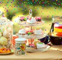 Uzkodas un našķi bērnudārza izlaiduma ballītei un citiem bērnu svētkiem