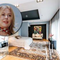 ФОТО: Миллионер Бенита Садауска сдает свой дом в Юрмале за 8500 евро в месяц