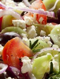 Fiksie grieķu salāti ar arbūzu