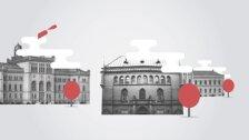 Latvijas Nacionālā mākslas muzeja vēsture četrās minūtēs