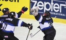 Lietuvas un Igaunijas hokejistiem sagrāves pasaules čempionātā