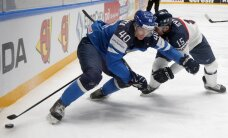 Somijas hokejisti gūst piecus vārtus un 'uz nulles' atstāj Slovākiju