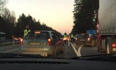 Satiksme uz Vidzemes šosejas iebraukšanai Rīgā tiks atjaunota ap pulksten 13