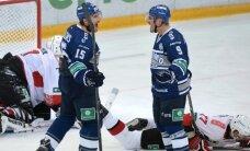 Latviešu pārstāvētā Maskavas 'Dinamo' pieveic SKA hokejistus