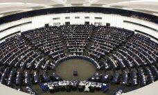 Junkera bēgļu plāns: Zīle, Vaidere un Kariņš vienīgie no Baltijas valstīm EP balsojuši pret