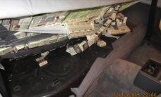 Muitnieki notver ar kontrabandas cigaretēm pildītu 'BMW'