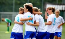 Rīgas Futbola skolas futbolistes trešo gadu pēc kārtas kļūst par Latvijas čempionēm