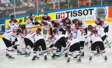 Sākusies biļešu tirdzniecība uz Latvijas hokeja izlases pārbaudes turnīra spēlēm Liepājā