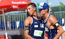 Pļaviņš/Regža nespēj izkļūt no Maskavas 'Grand Slam' posma apakšgrupas un iedragā olimpiskās cerības