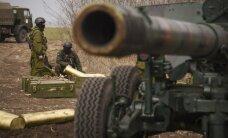Aizvadītajā diennaktī Ukrainas austrumos krituši septiņi karavīri