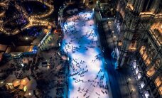 Ledus sapnis: 10 brīnišķīgas un pārsteidzošas slidotavas no visas pasaules