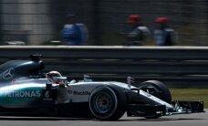 Hamiltons ātrākais Kanādas 'Grand Prix' treniņbraucienu pirmajā divās sesijās