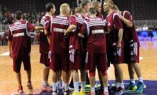 Latvijas vīriešu basketbola izlase aizvada pārbaudes spēli pret Somiju